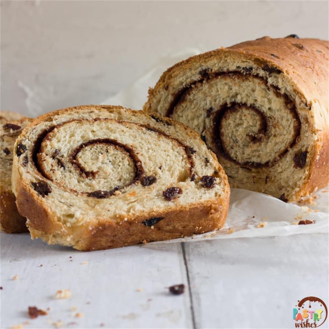 Swirled Cinnamon Raisin Bread (2 Ways)