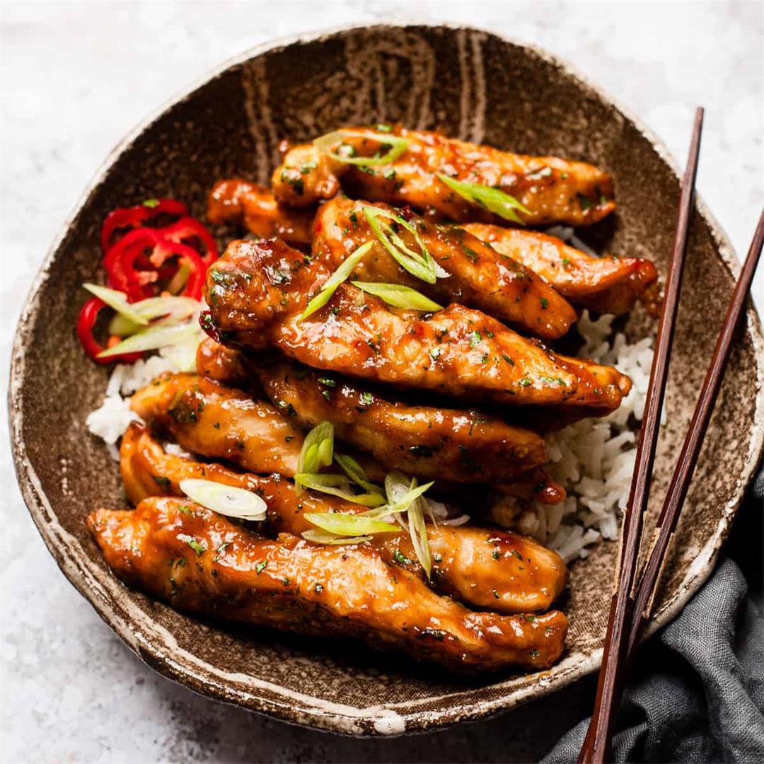 Crispy Honey Chilli Chicken (30 Minute Recipe)