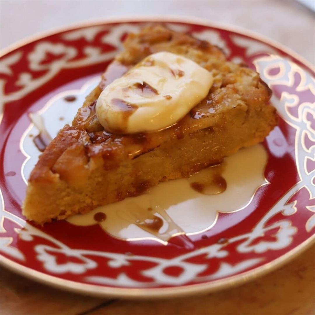 Apple Polenta Cake (Gluten Free)