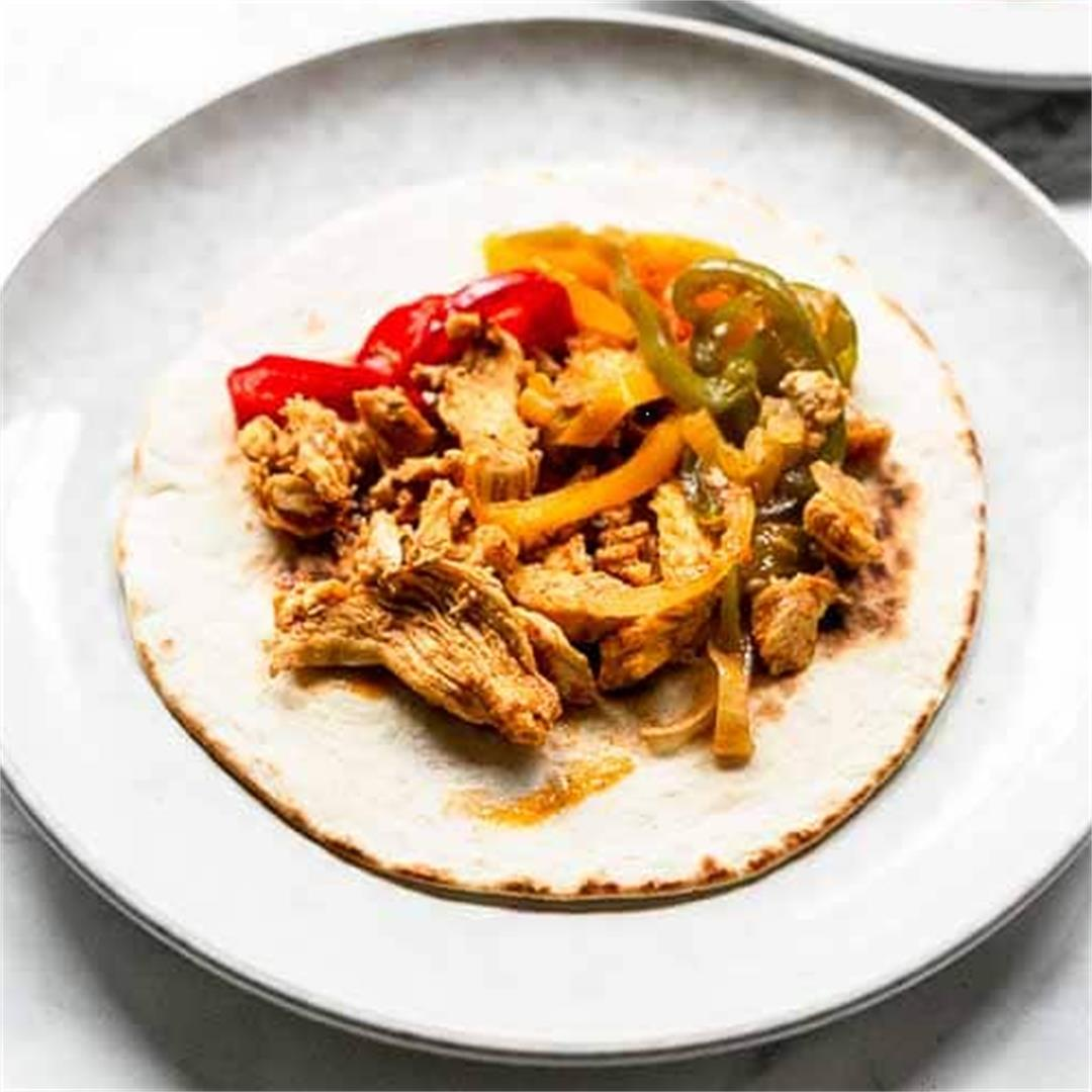 Instant Pot Chicken Fajita