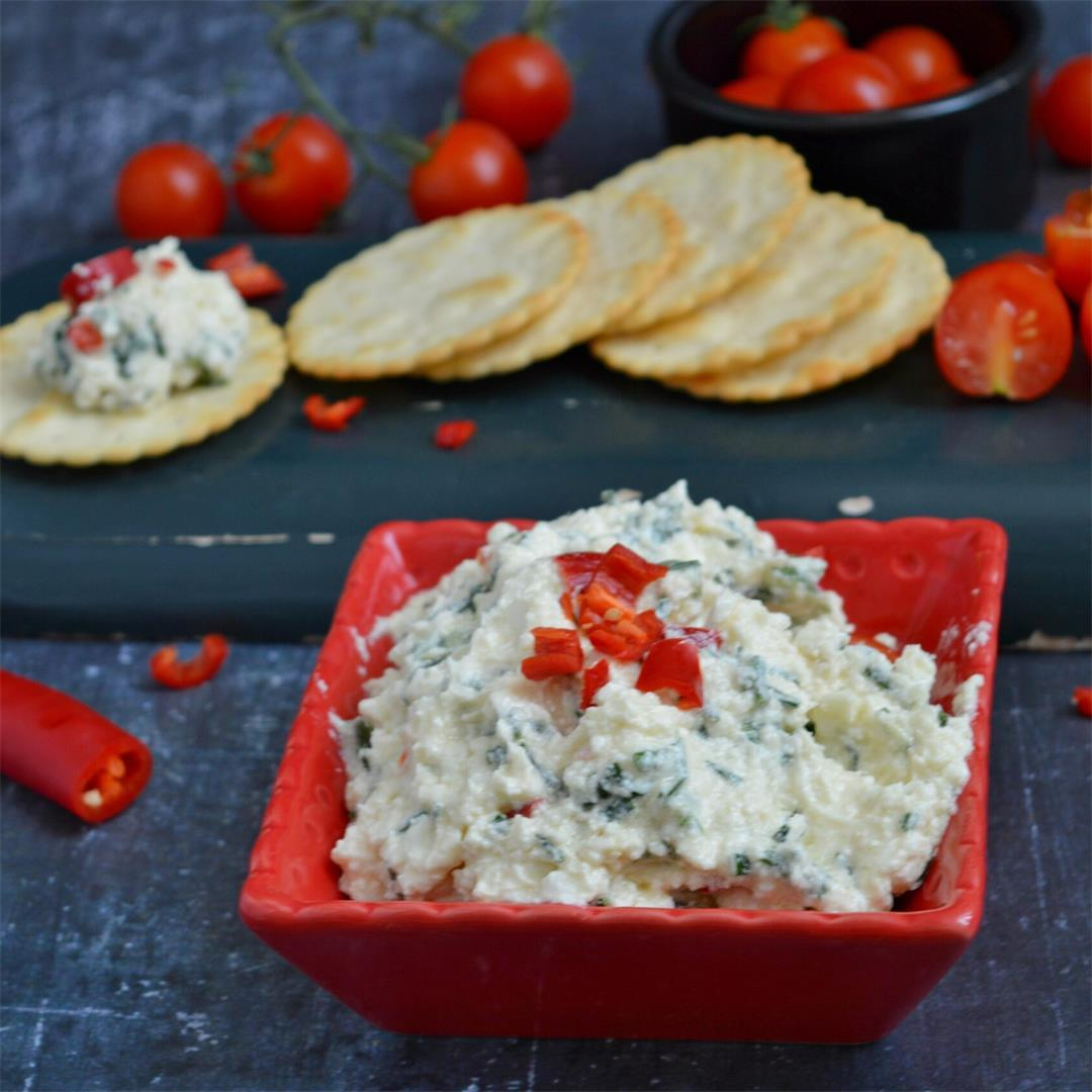 Spicy Feta Dip — Tasty Food for Busy Mums Dips Appetizers Sprea