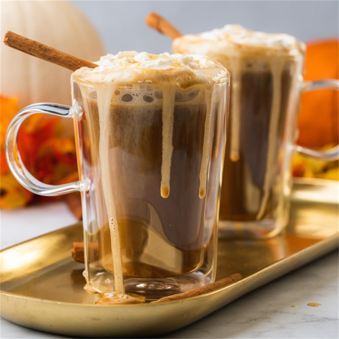 Keto Pumpkin Spice Bulletproof Coffee