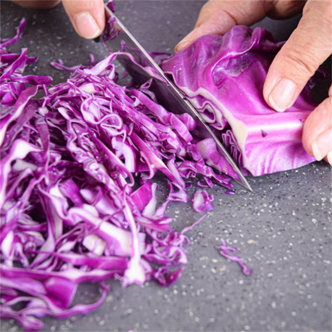 How to Shred Cabbage: 3 Ways