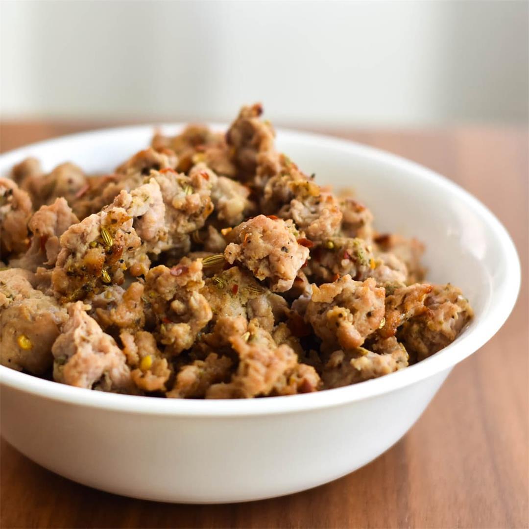 Whole30 Italian Sausage {Paleo & Gluten Free} — Foodborne Welln