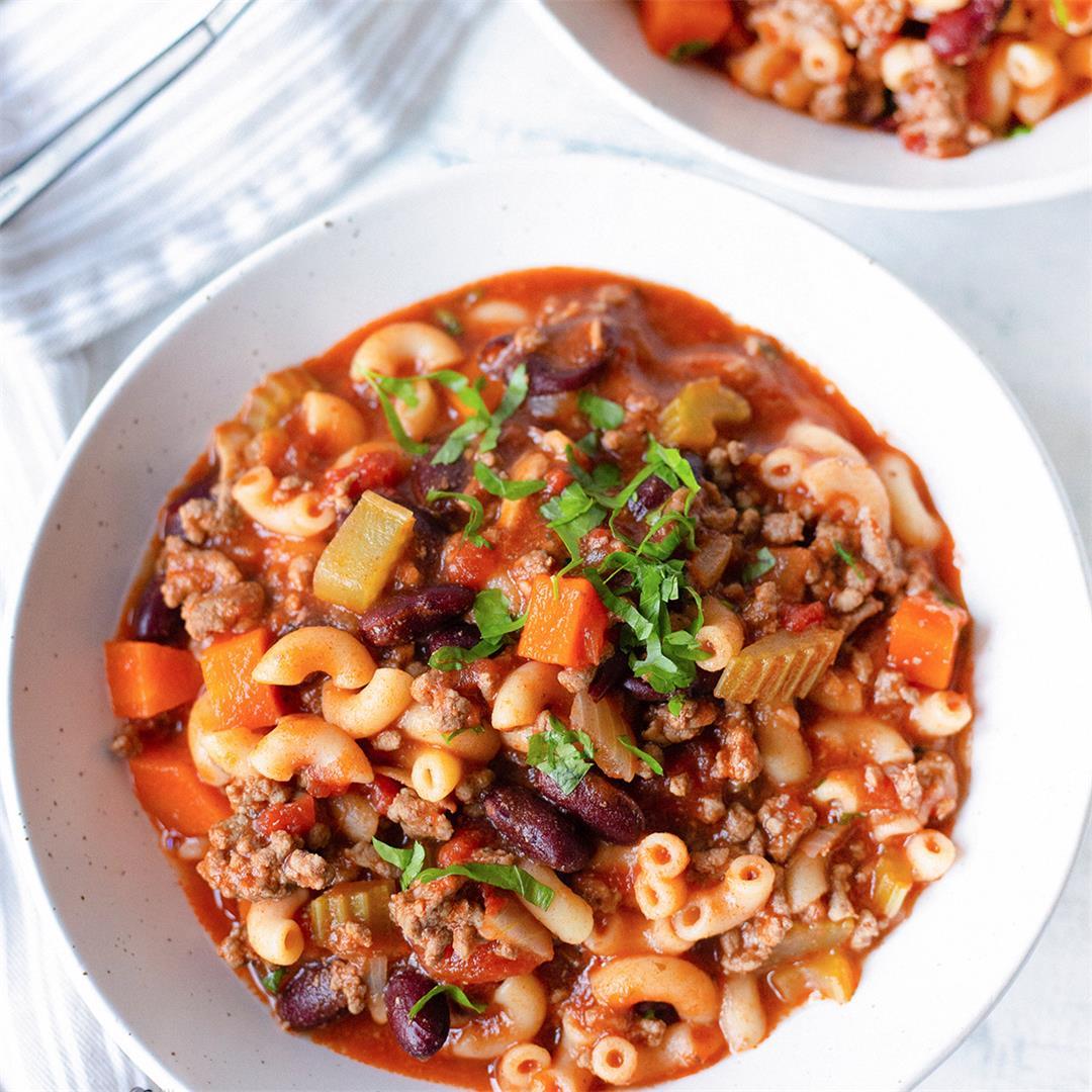 Pasta E Fagioli Soup-Healthy Life Trainer