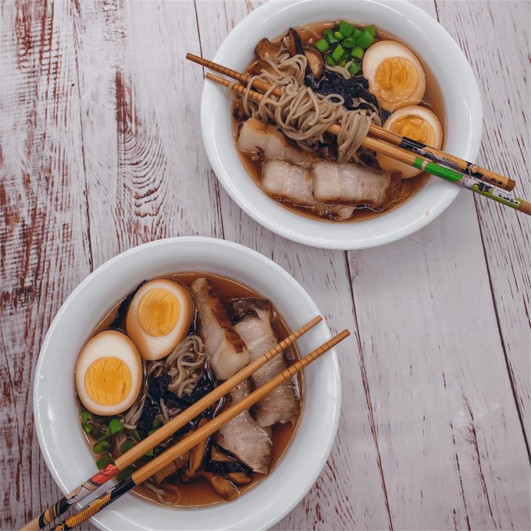 Shoyu Ramen with Pork Belly