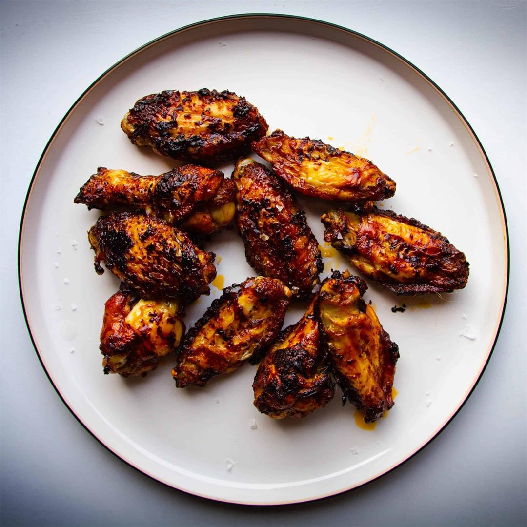 Marmite and Chili Baked Chicken Wings