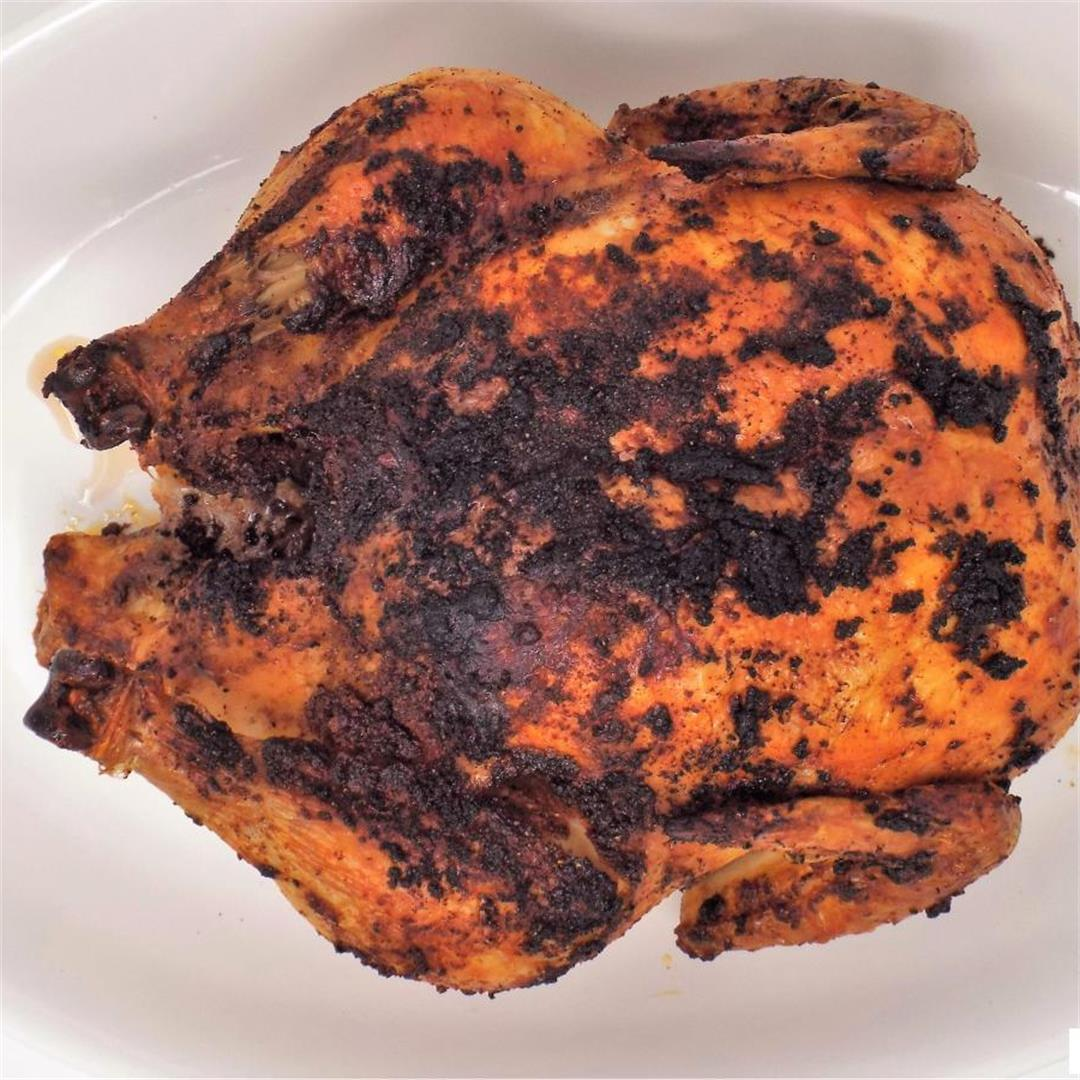 Smoky Oven Roasted Chicken
