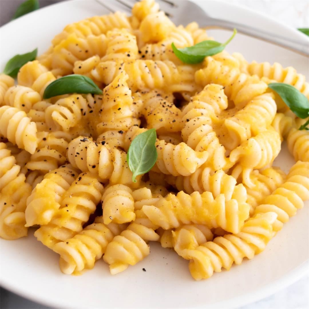 Creamy Butternut Squash Pasta