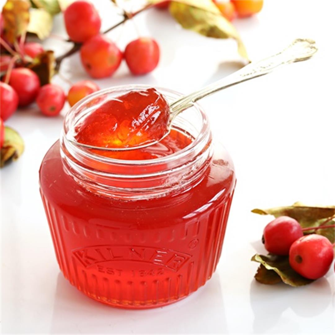 Easy Crab Apple Jelly