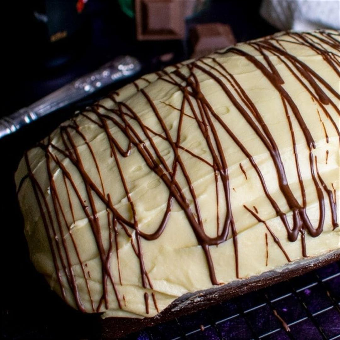Chocolate and baileys Loaf Cake
