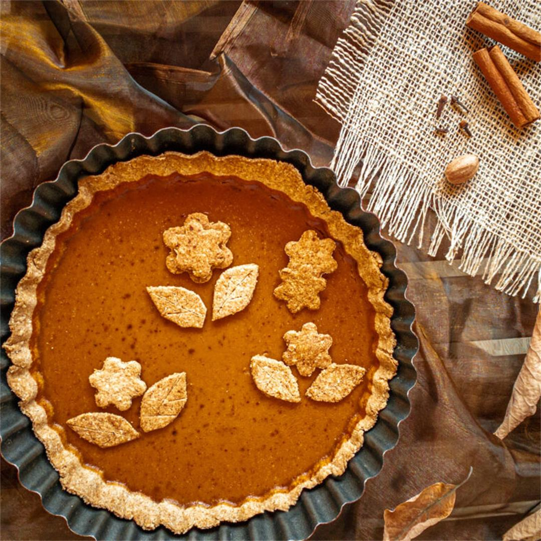 The Ultimate Skinny Pumpkin Pie
