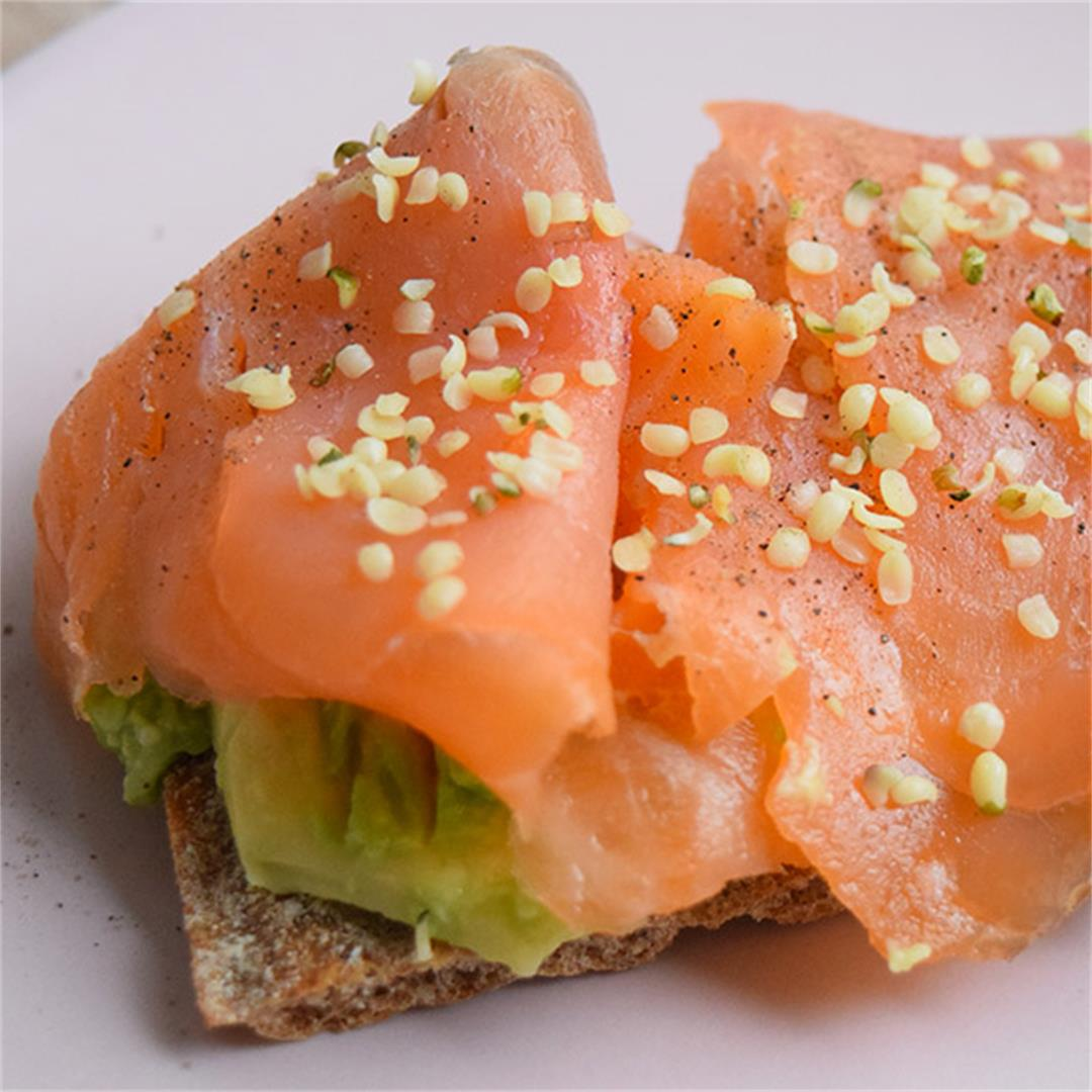 Avocado & Salmon Toast