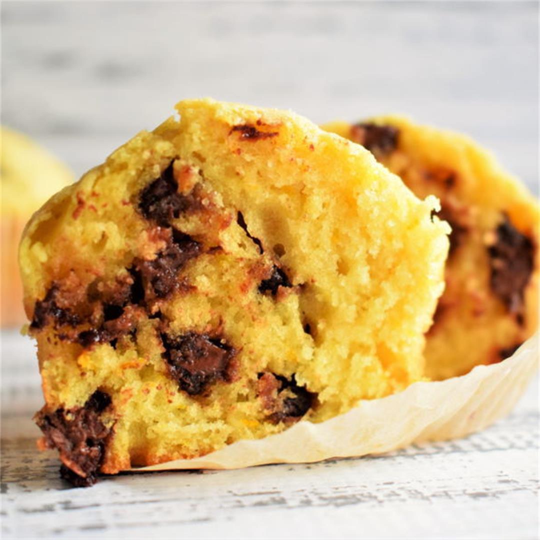 Chocolate Chip and Orange Zest Muffins