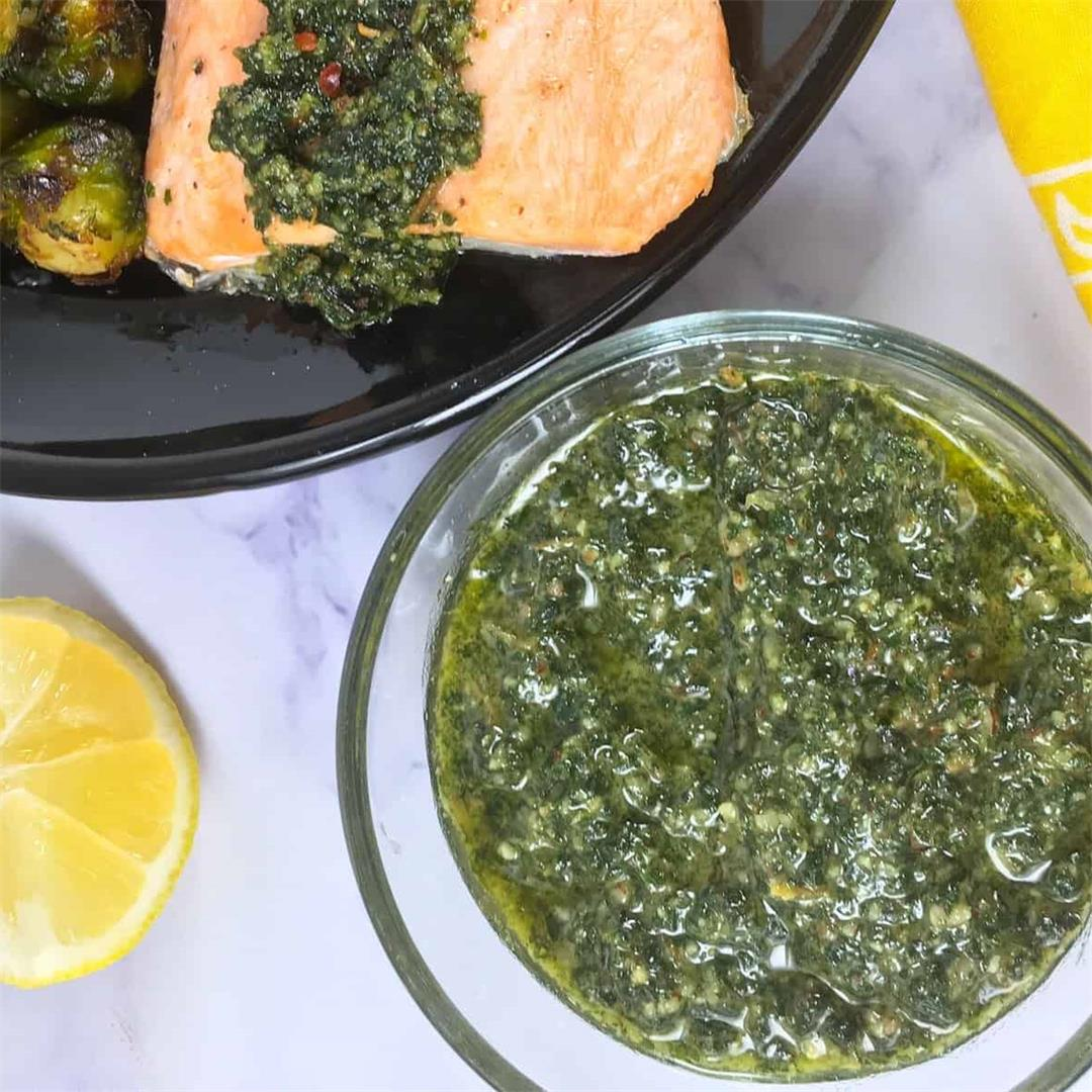 Keto Pesto Sauce Recipe