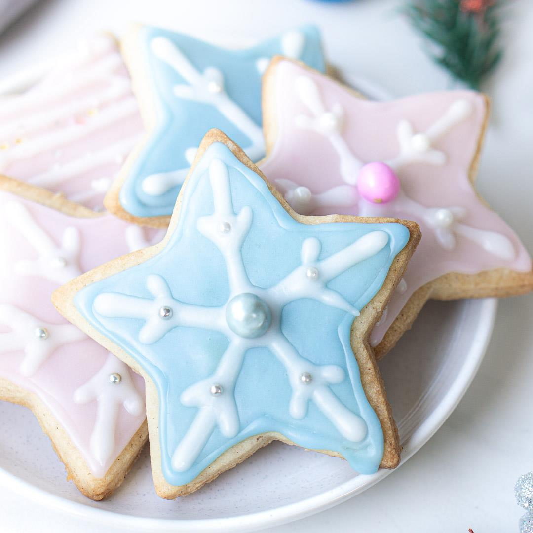 Vegan Cinnamon Sugar Cookies