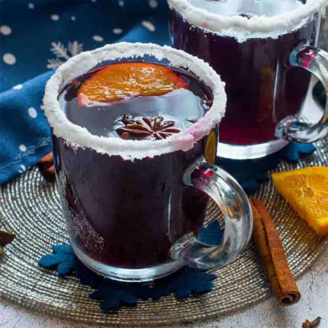Non Alcoholic Mulled Wine (Instant Pot, Stove Top, Slow Cooker)
