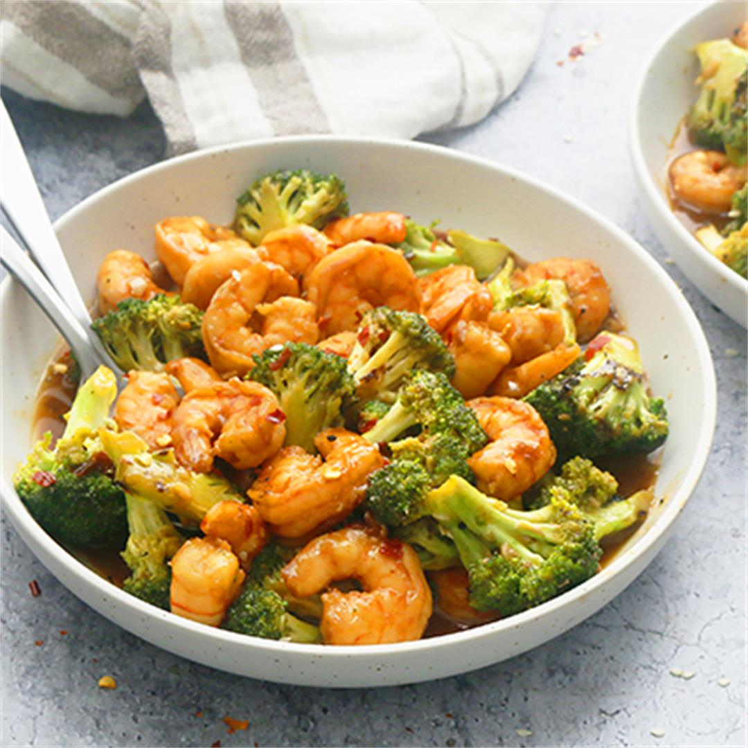 Shrimp and Broccoli Stir Fry (ready in 20 minutes)