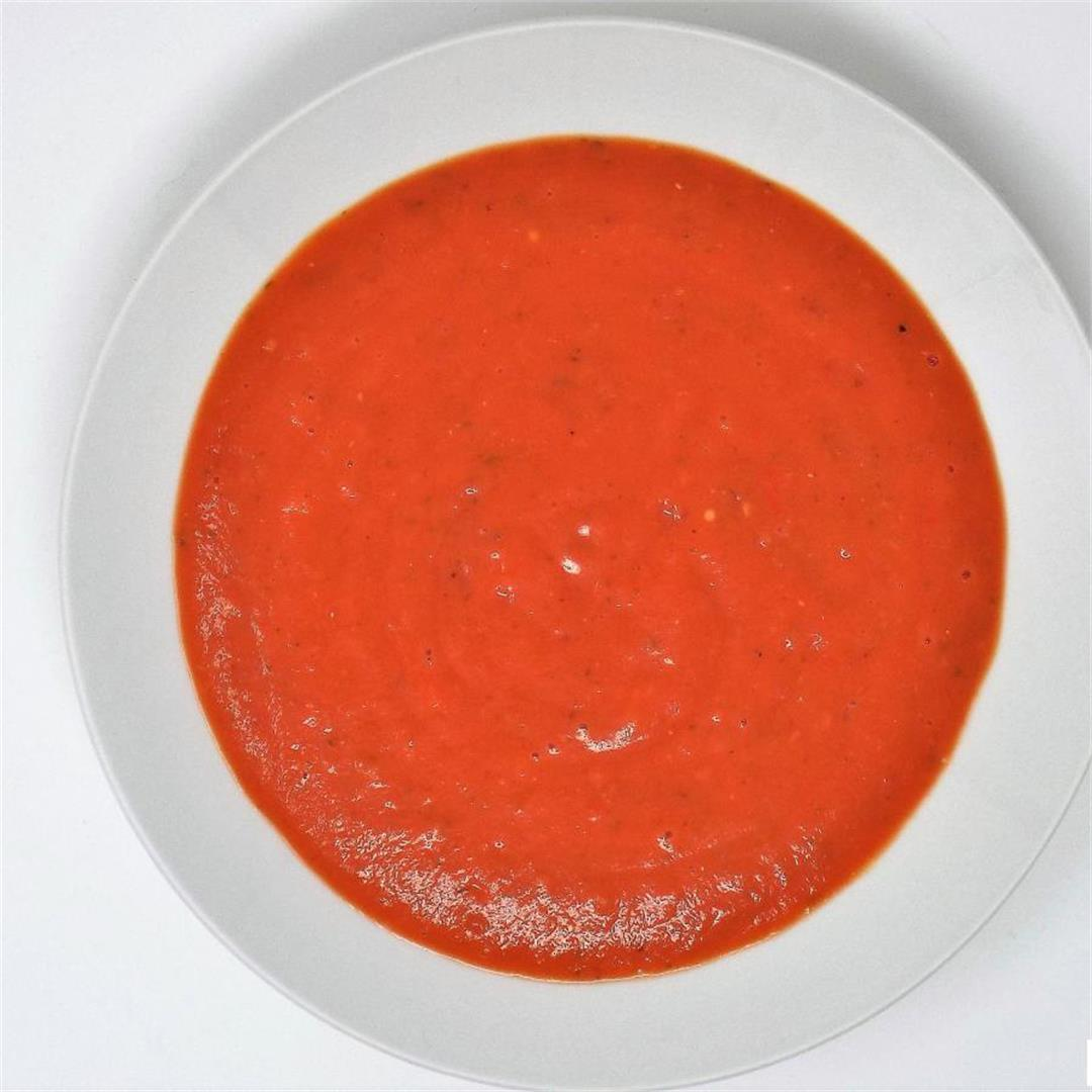 Creamy Tomato Vegetable Soup