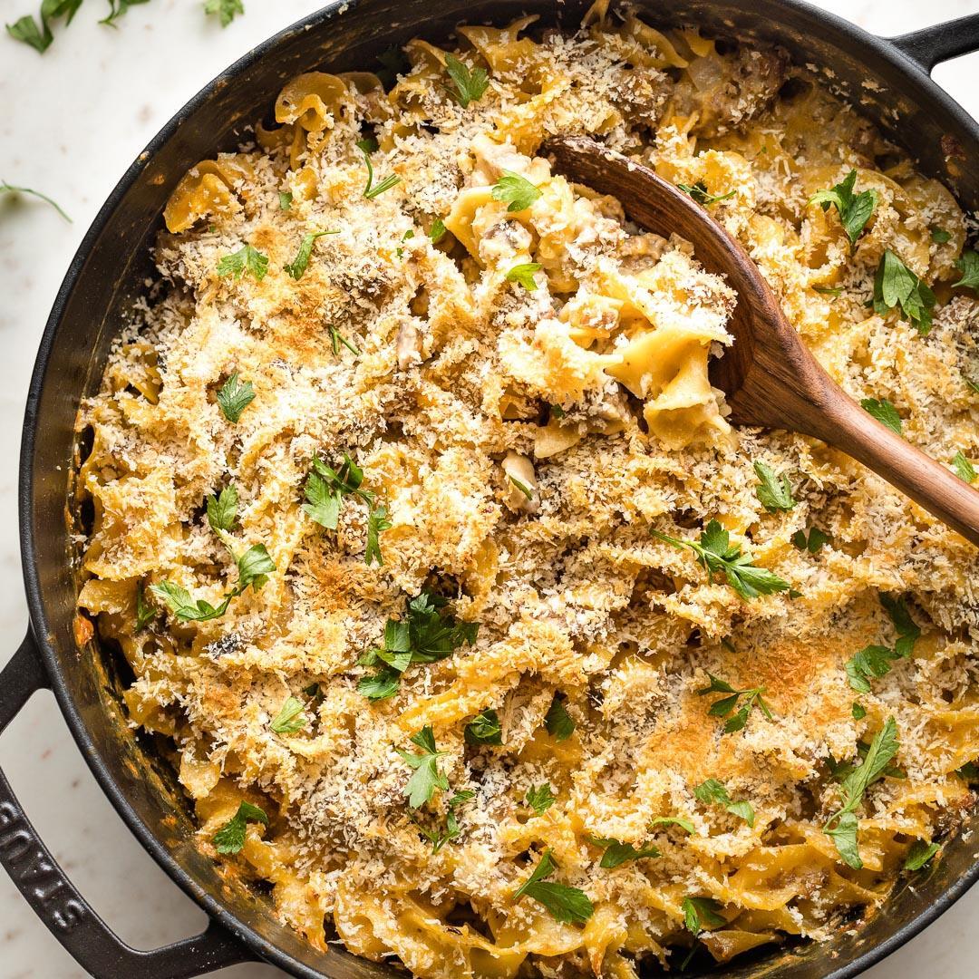 Sausage Noodle Casserole