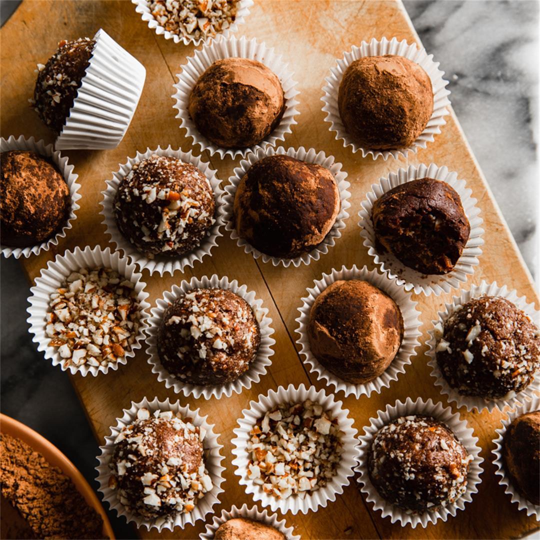 Collagen Chocolate Truffles Gluten Free