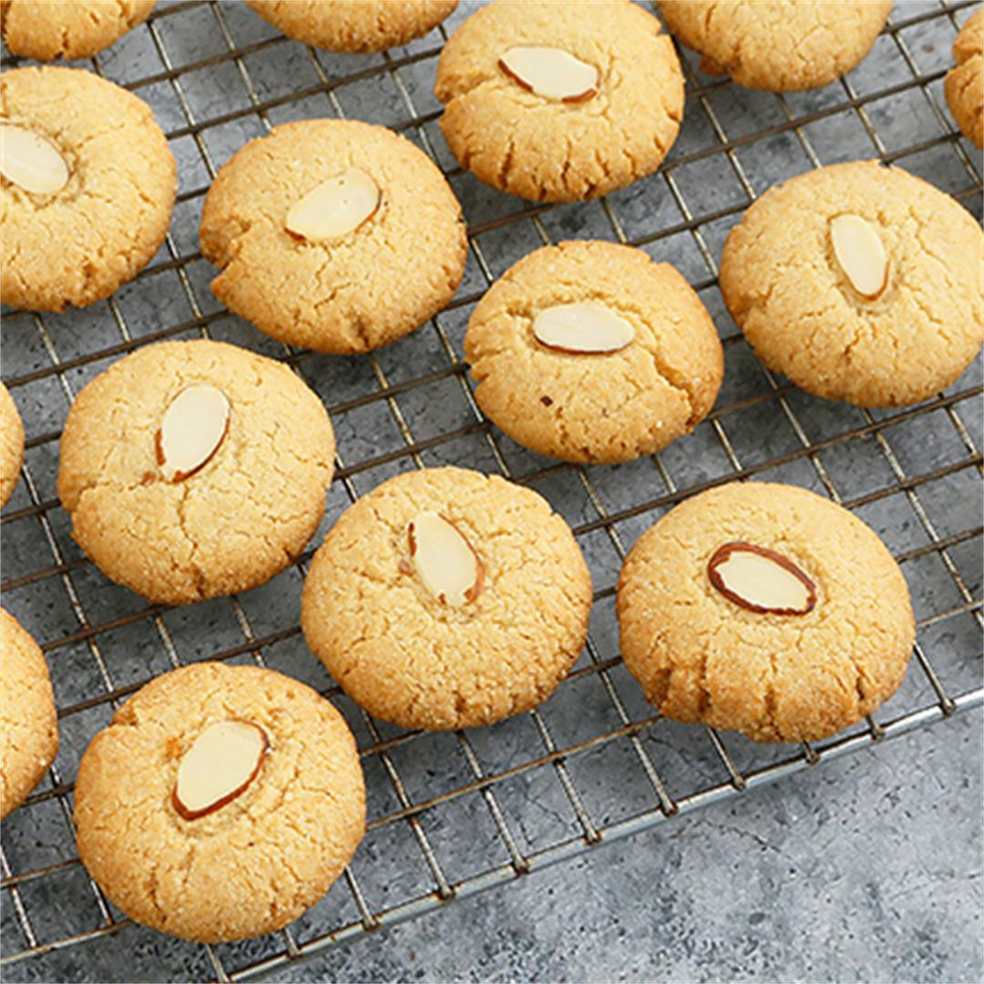 Almond Flour Cookies (only 3 ingredients)