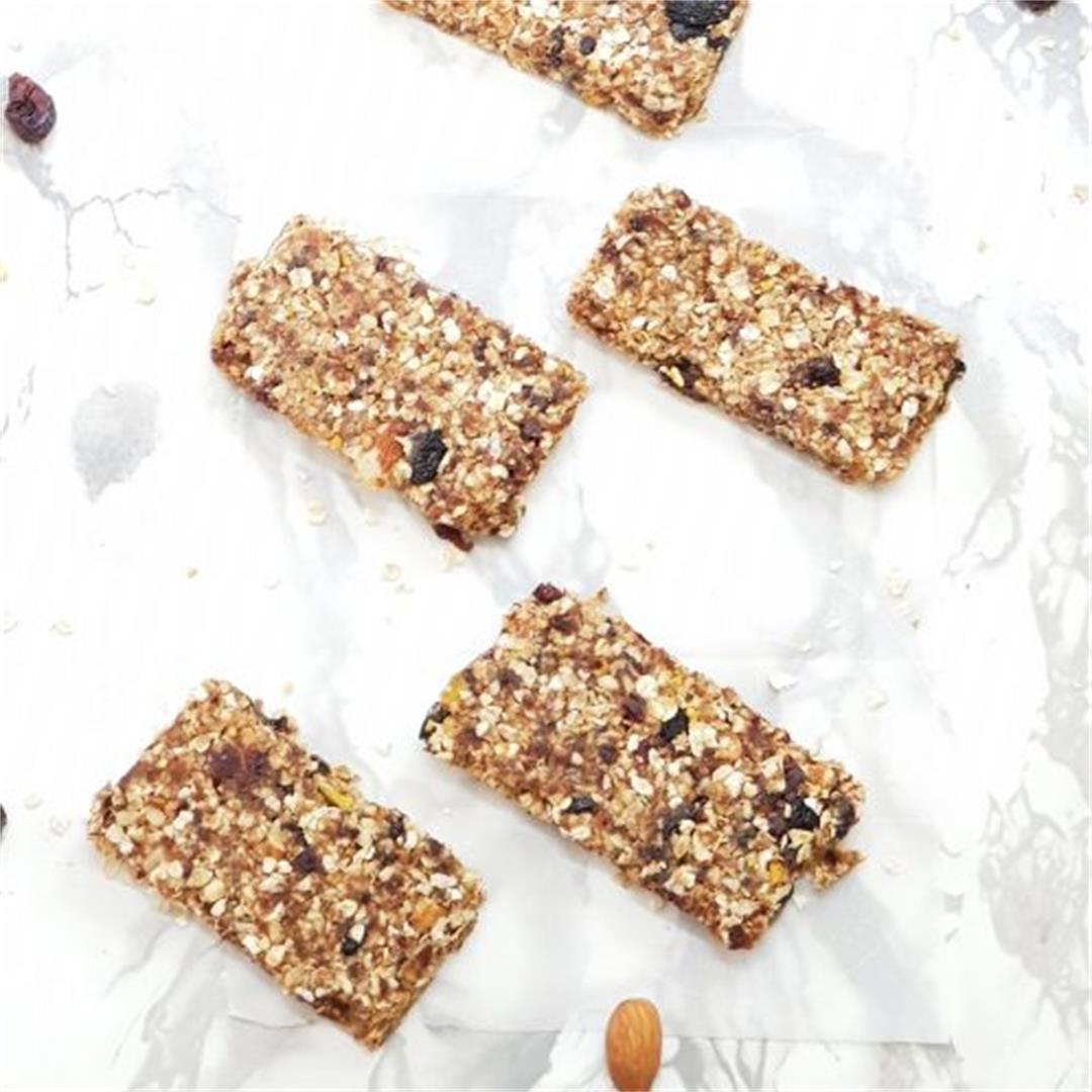 Simple Quick Healthy Granola Bars(No-Bake)