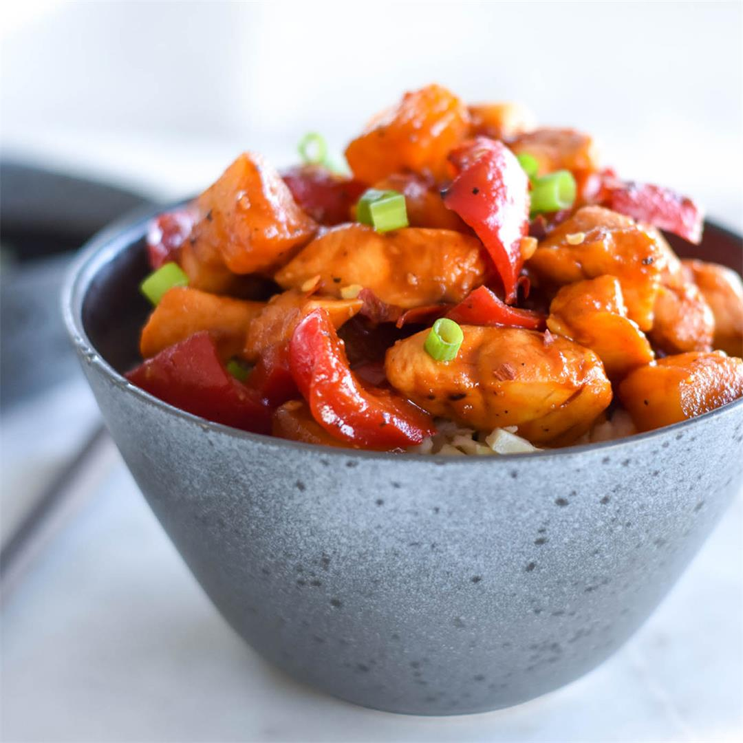 Whole30 Pineapple Chicken — Foodborne Wellness