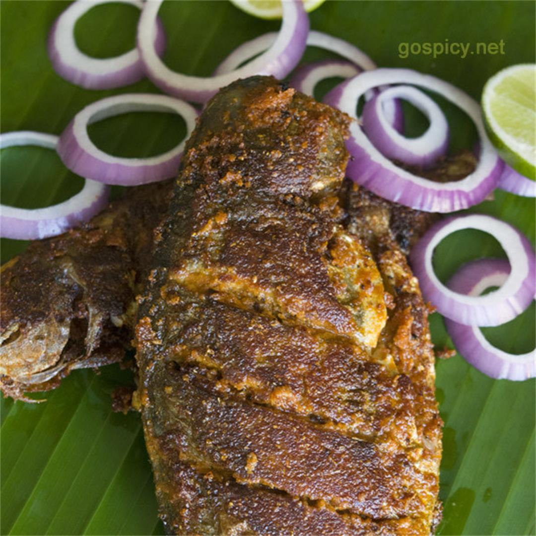 Whole Fish Fry, Restaurant Style Whole Fish Fry Recipe