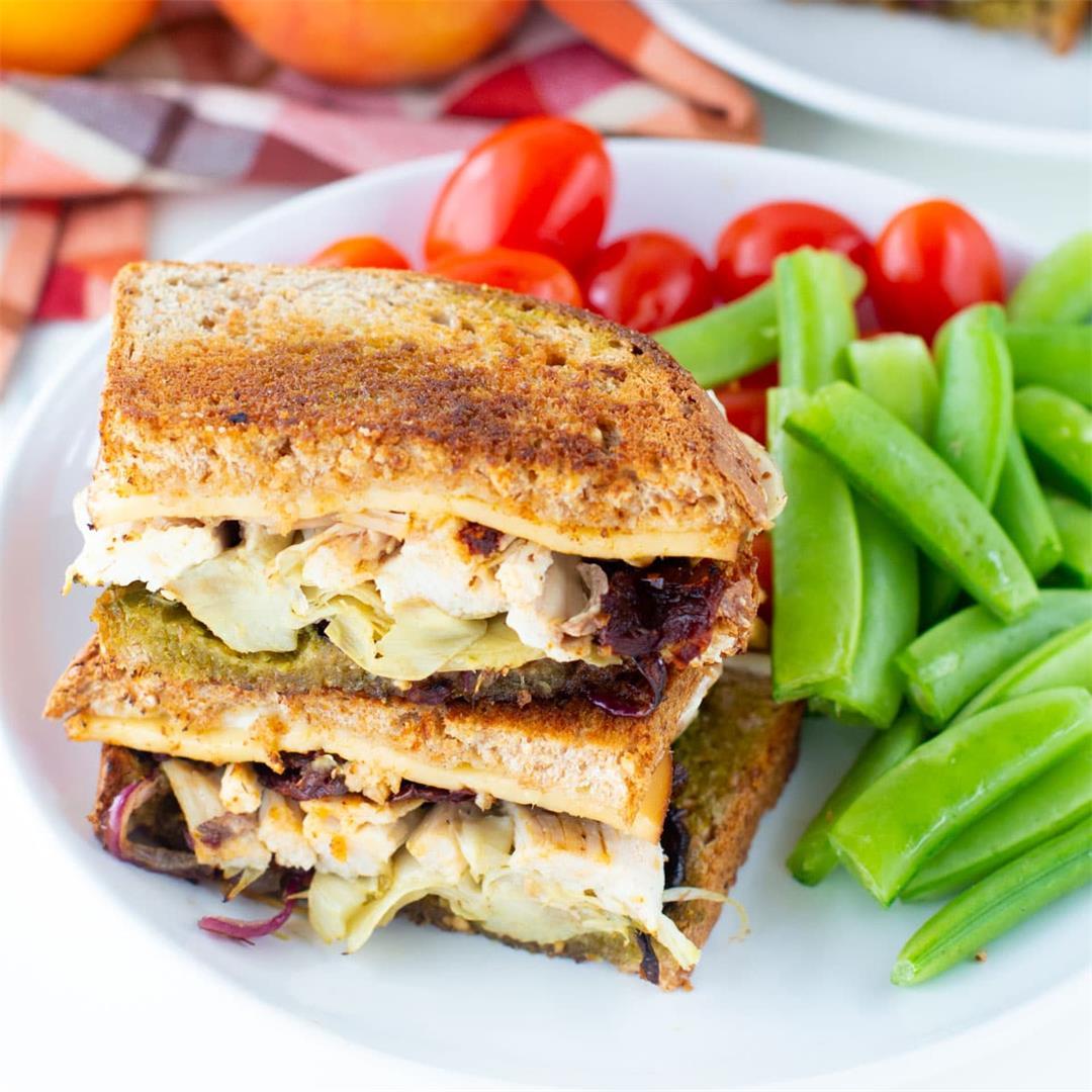 The BEST Leftover Turkey Sandwich