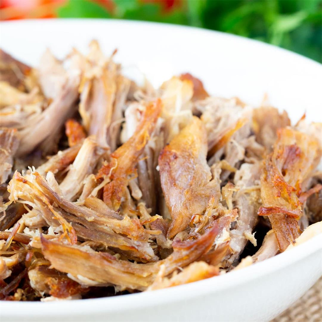 3-Ingredient Pulled Pork Instant Pot