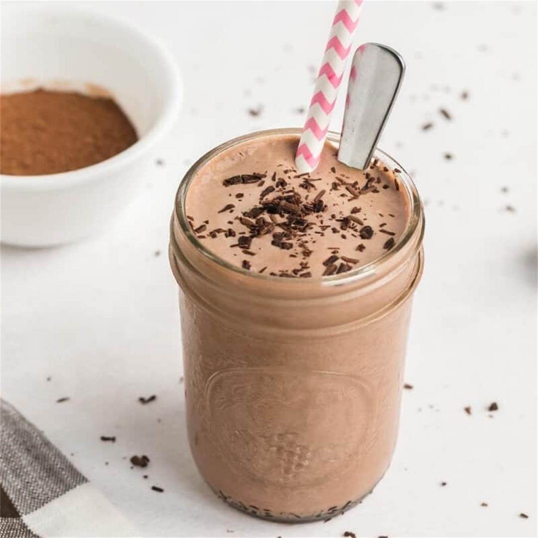 Chocolate Keto Frosty Low Carb Shake