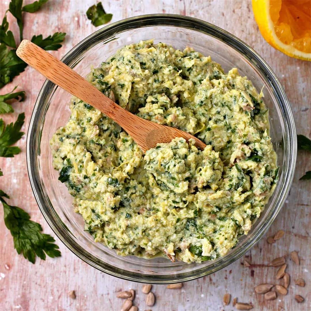 5-ingredient artichoke pesto
