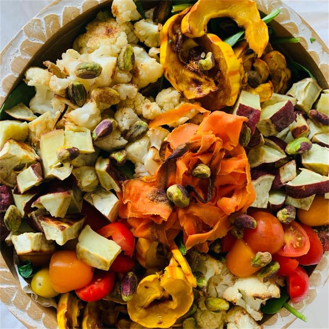 Fall Salad with Roasted Vegetables