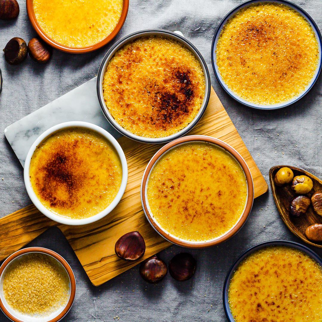 Chestnut Crème Brûlée