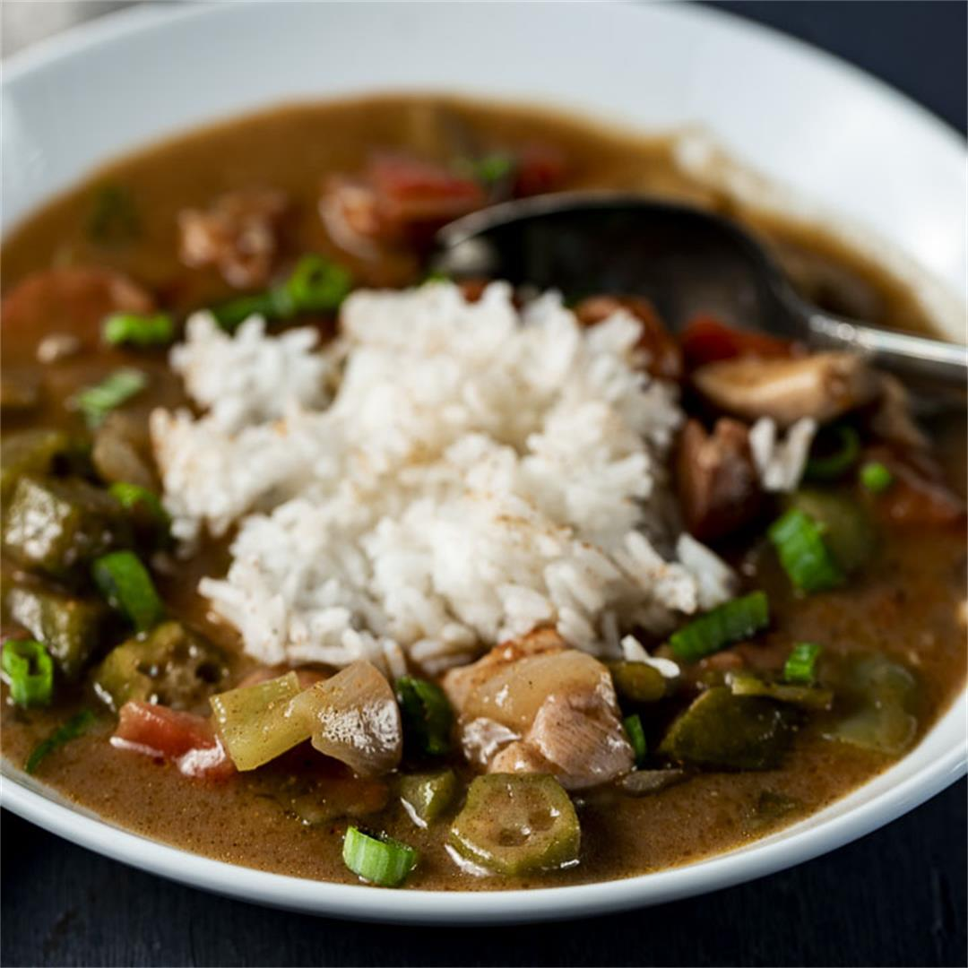 New Orleans Chicken and Sausage Gumbo