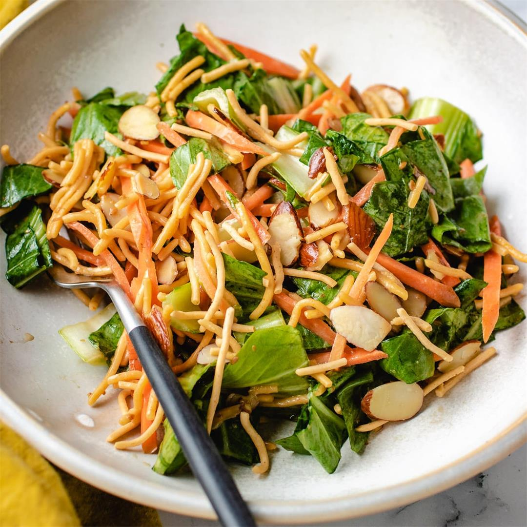Asian Chopped Salad with Crispy Noodles