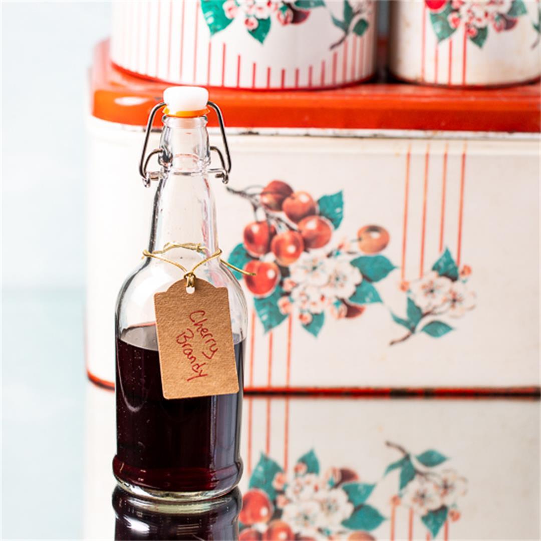 Homemade Cherry Brandy