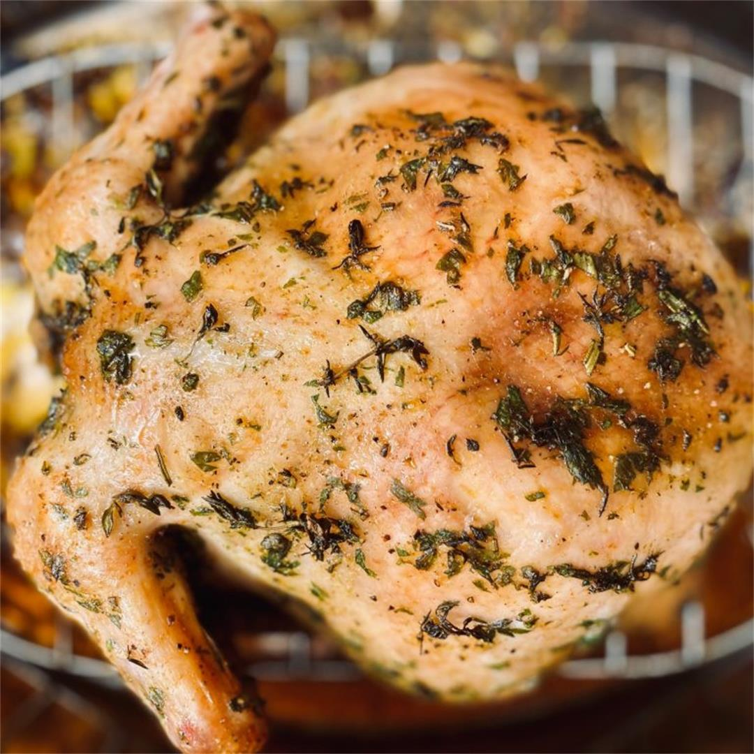 Whole Roasted Herb Chicken