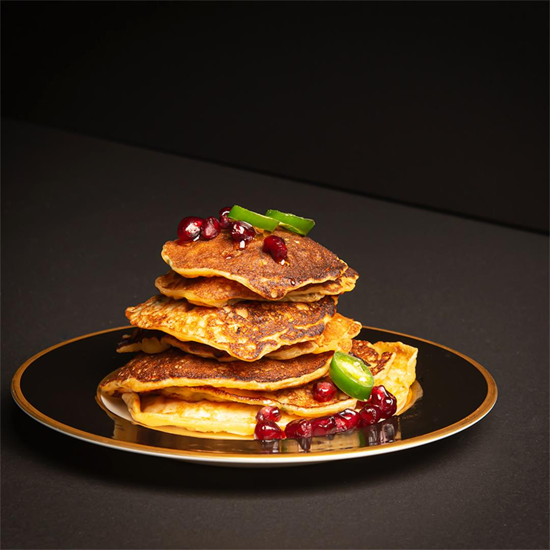 Sweet and Savory Corn Fritters