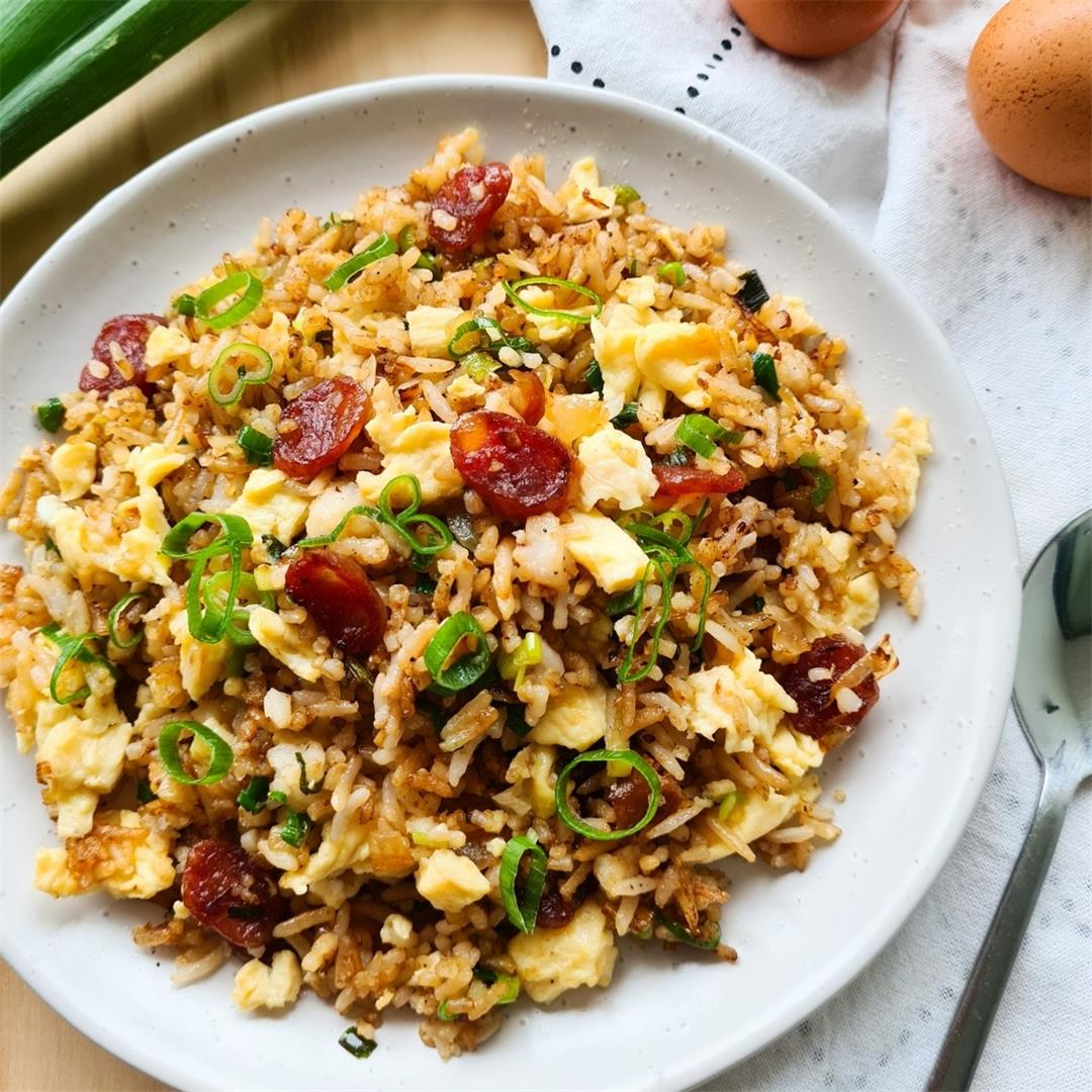 The best Chinese sausage fried rice