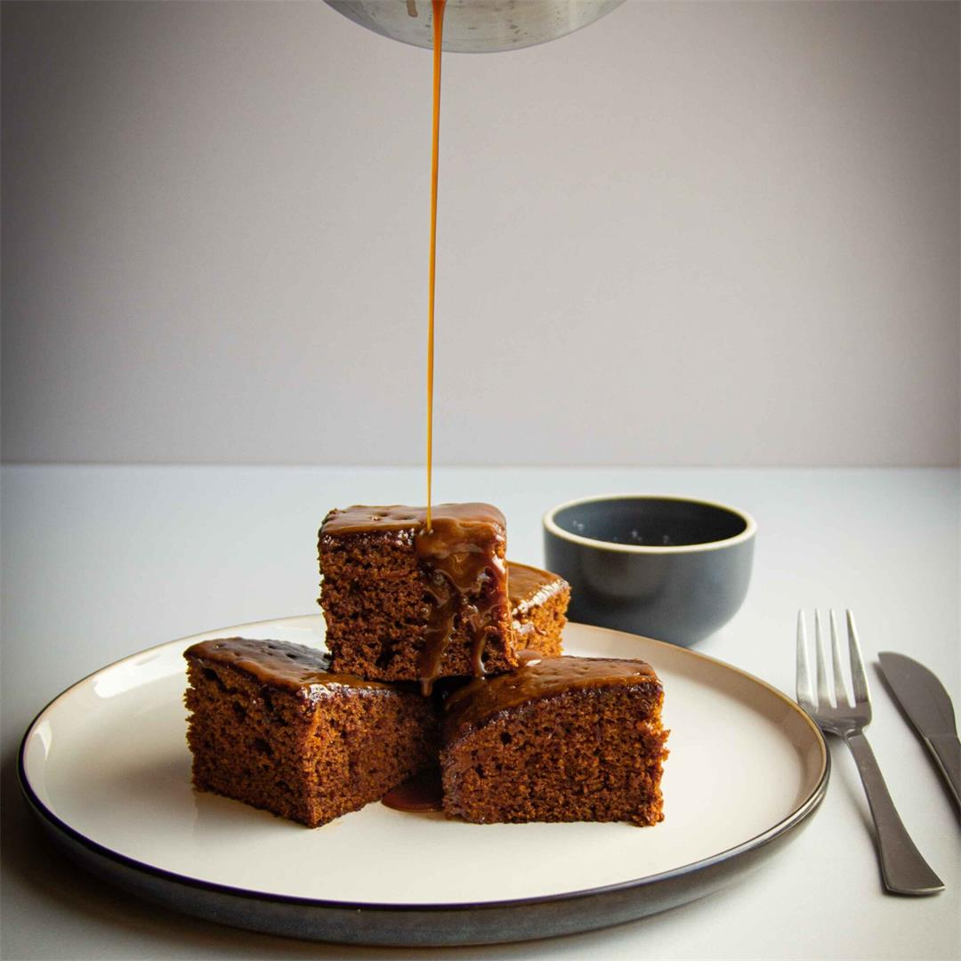 Salted Caramel Sticky Toffee Pudding