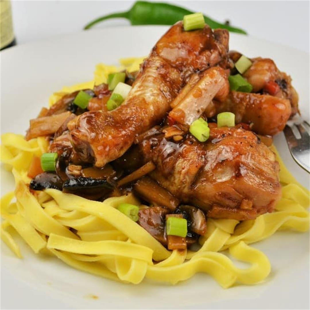 Easiest Teriyaki Chicken Recipe-Timea's Kitchen