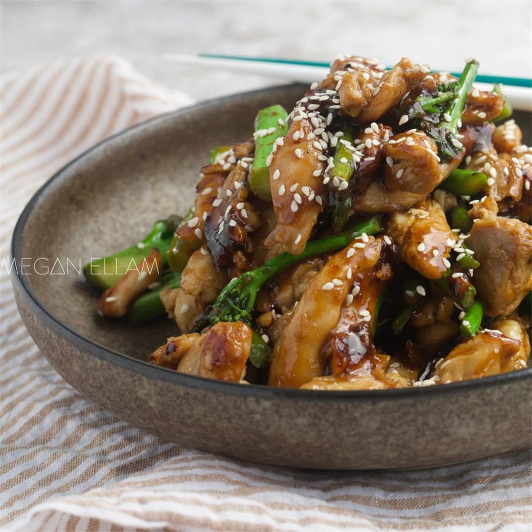 Keto Teriyaki Chicken Recipe in just 20 minutes