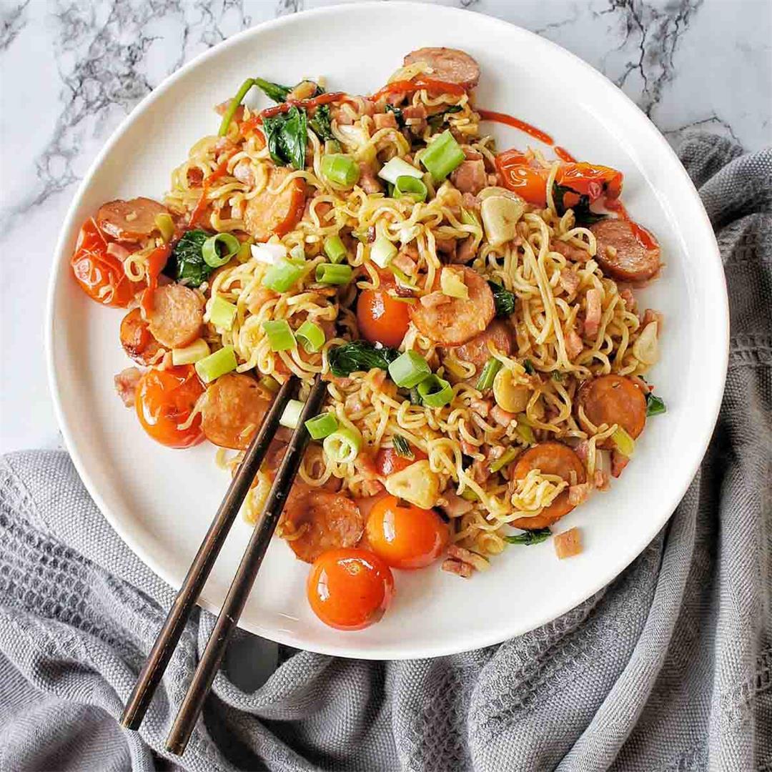 Chorizo Noodles