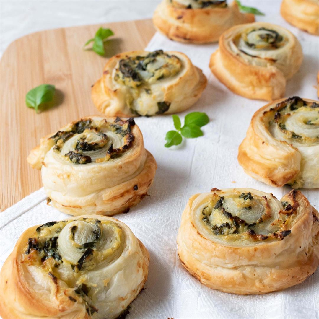 Creamy Spinach Artichoke Pinwheels