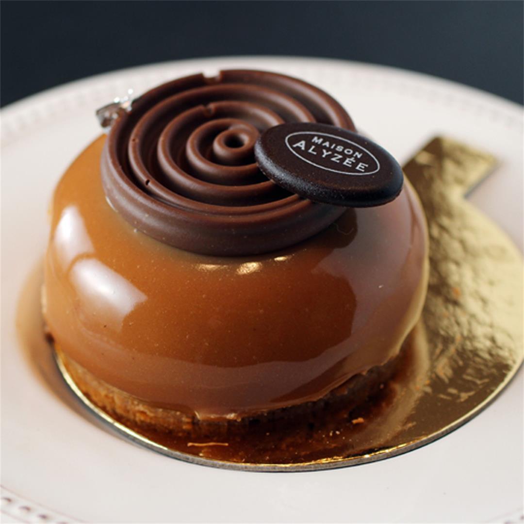 Harmony chocolate dessert