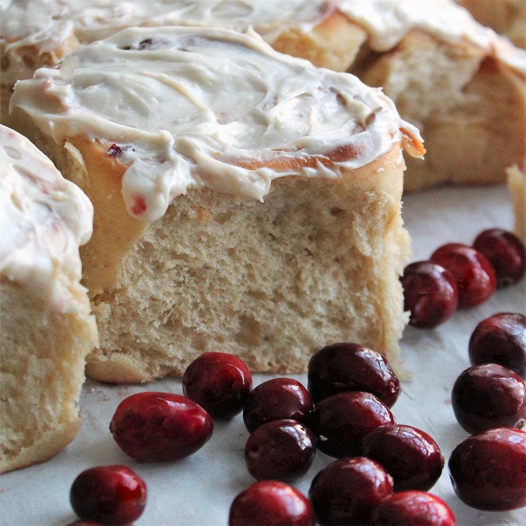 Cranberry Cinnamon Sweet Rolls – My Recipe Reviews