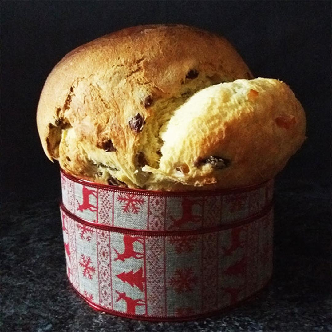 Panettone from Scratch