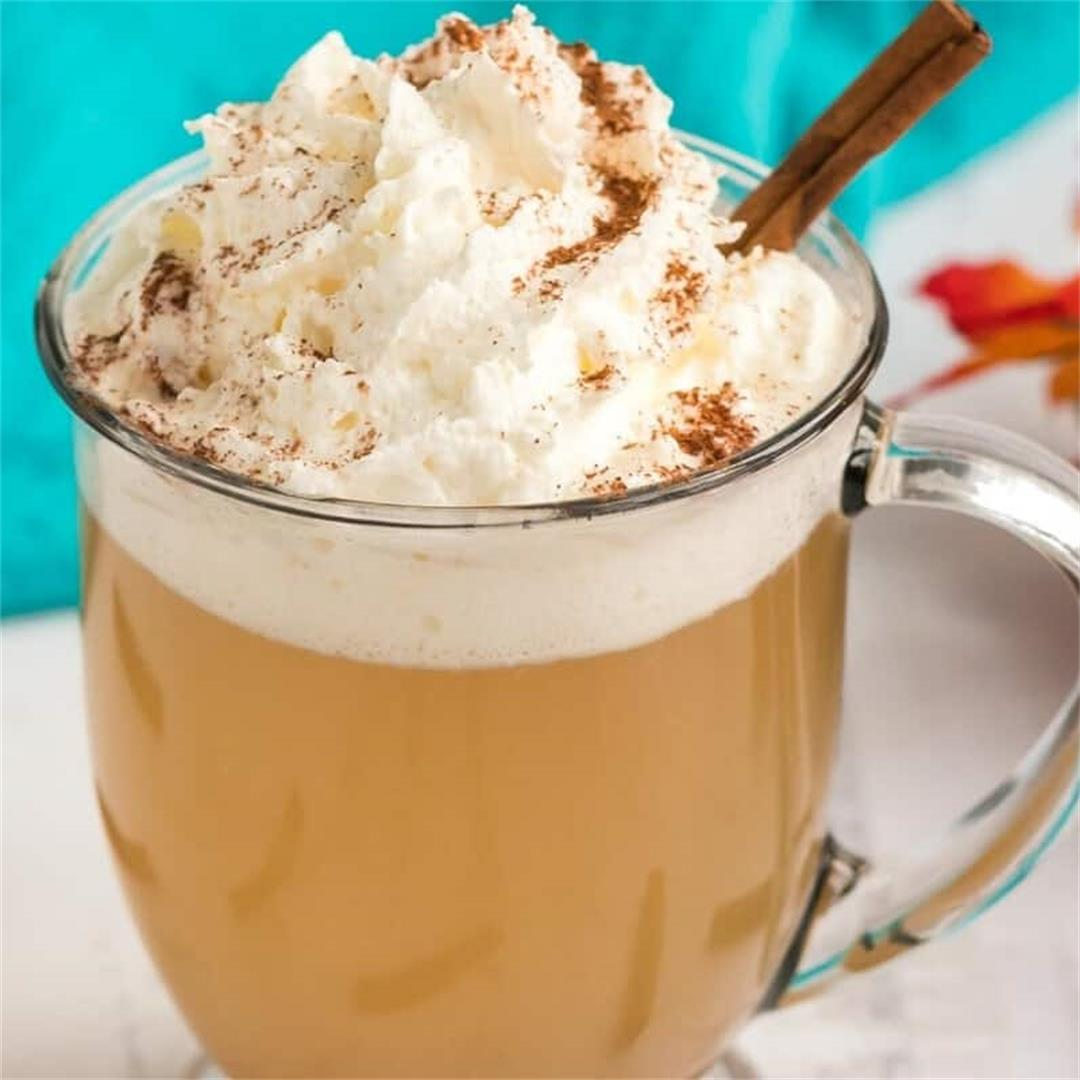 Keto Starbucks Caramel Apple Spice Drink (Copycat Recipe)
